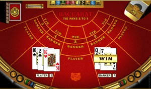 Baccarat at Club Dice Casino